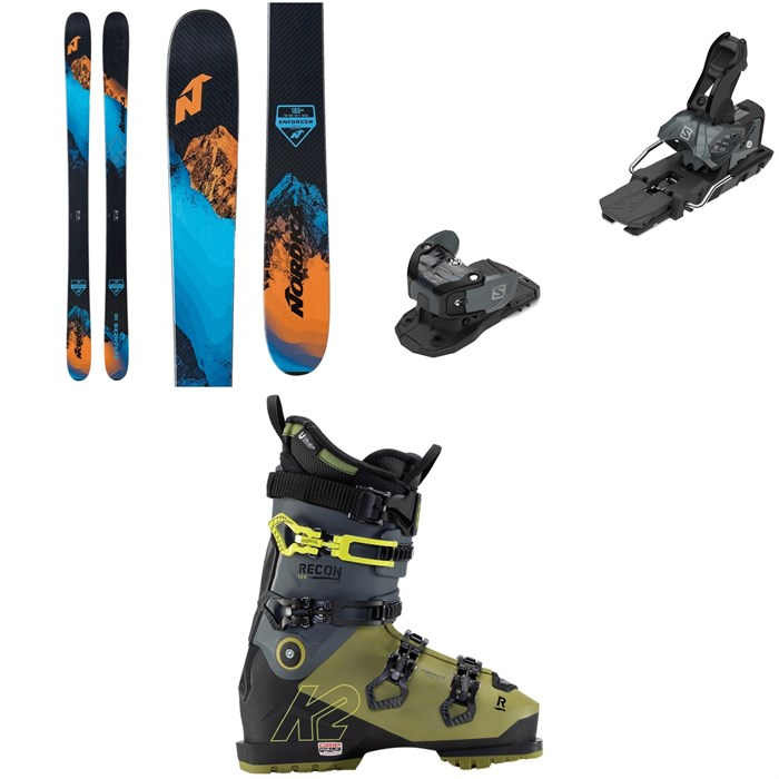 Nordica - Enforcer Free 104 Skis + Salomon Warden MNC 13 Ski Bindings + K2 Recon 120 MV GW Ski Boots 2021