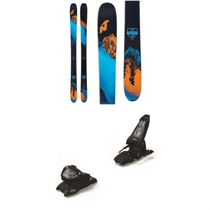 Nordica - Enforcer Free 104 Skis + Marker Griffon 13 ID Ski Bindings 2021