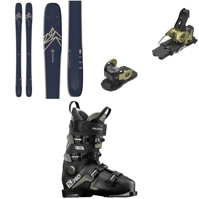 Salomon - QST 99 Skis + Warden MNC 13 Ski Bindings + S/Pro 120 Ski Boots 2021