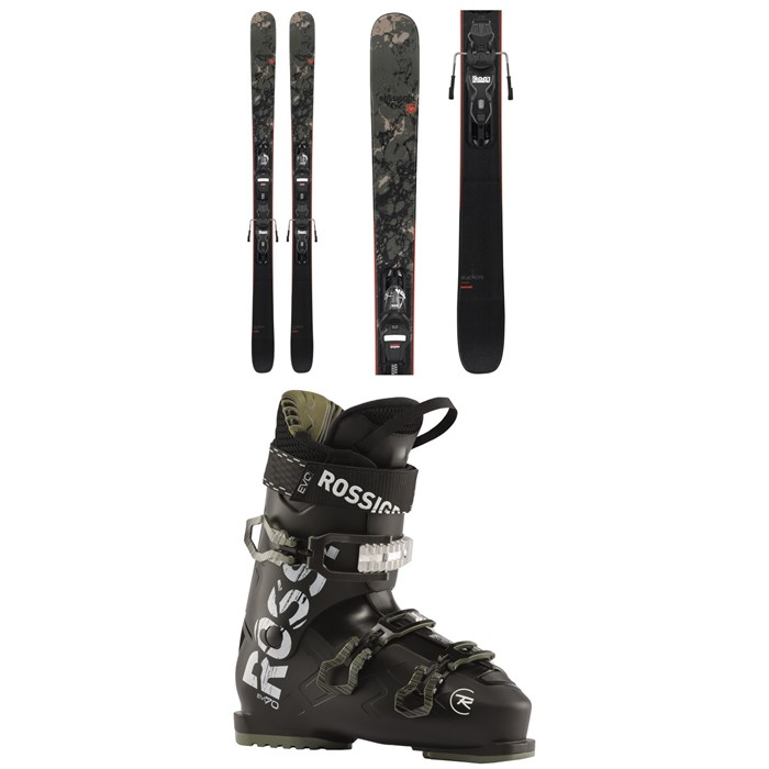 Rossignol - Black Ops Smasher Skis + Xpress 10 GW Bindings + Evo 70 Ski Boots 2021