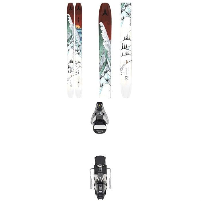 Atomic - Bent Chetler 120 Skis + STH2 WTR 16 Ski Bindings 2021