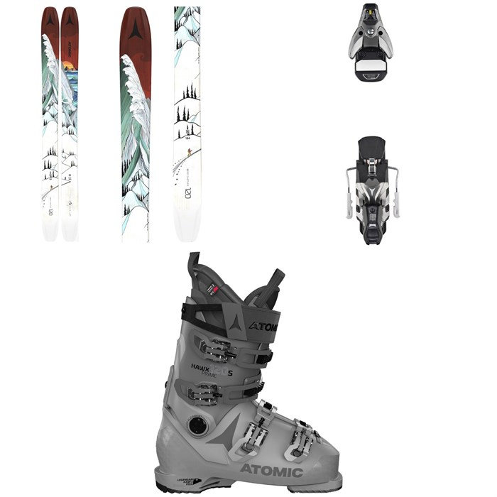 Atomic - Bent Chetler 120 Skis + STH2 WTR 16 Ski Bindings + Hawx Prime 120 S Ski Boots 2021