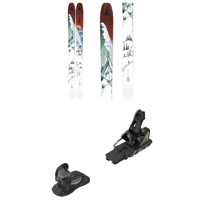 Atomic - Bentchetler 120 Skis + Warden MNC 13 Ski Bindings 2021