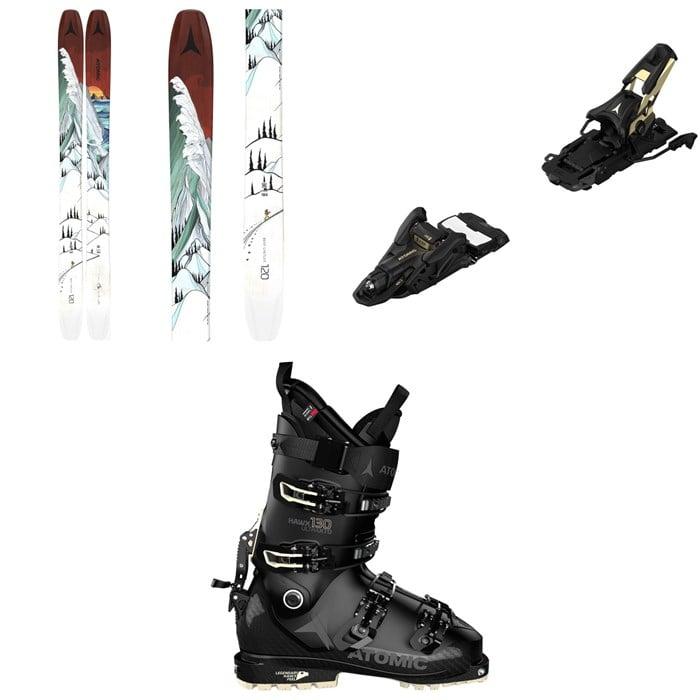 Atomic - Bent Chetler 120 Skis + Shift MNC 13 Alpine Touring Ski Bindings + Hawx Ultra XTD 130 Alpine Touring Ski Boots 2021