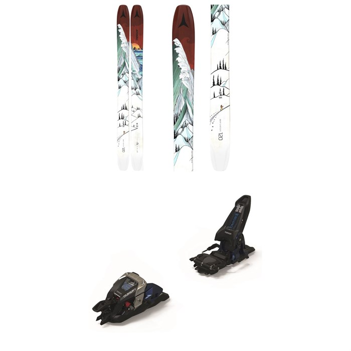 Atomic - Bent Chetler 120 Skis + Marker Duke PT 16 Alpine Touring Ski Bindings 2021