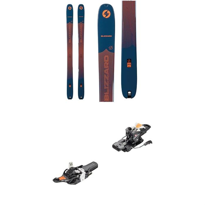 Blizzard - Zero G 105 Skis + Fritschi Tecton 12 Alpine Touring Ski Bindings 2021