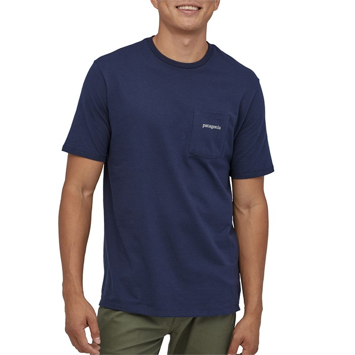 Patagonia - Line Logo Ridge Pocket Responsibili-Tee T-Shirt