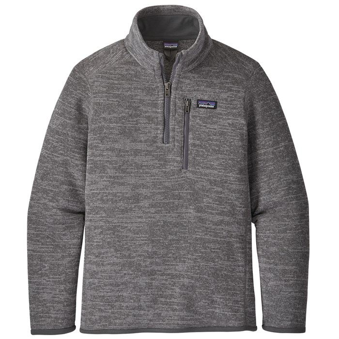 Patagonia - Better Sweater 1/4 Zip Pullover - Boys'