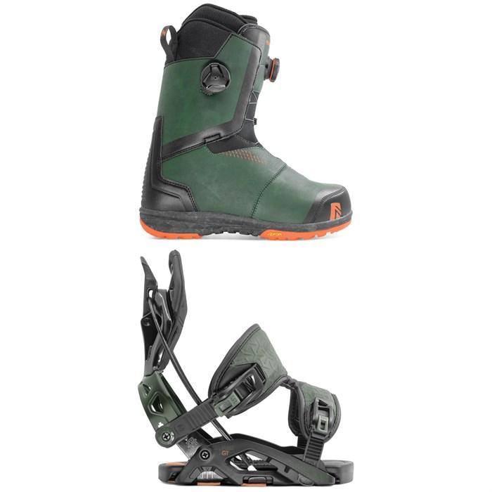 Nidecker - Helios Focus Boa Snowboard Boots + Flow Fuse-GT Fusion Snowboard Bindings 2020