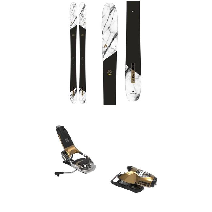 Dynastar - M-Free 108 Skis + Look Pivot 15 GW Ski Bindings 2022