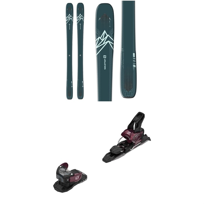 Salomon - QST Lux 92 Skis - Women's + Warden MNC 11 Ski Bindings 2021