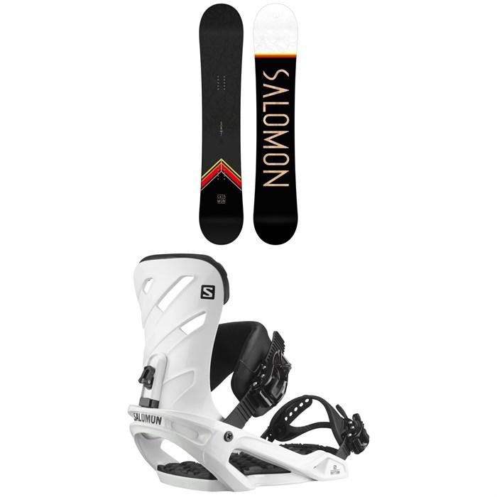 Salomon - Sight X Snowboard + Rhythm Snowboard Bindings 2021