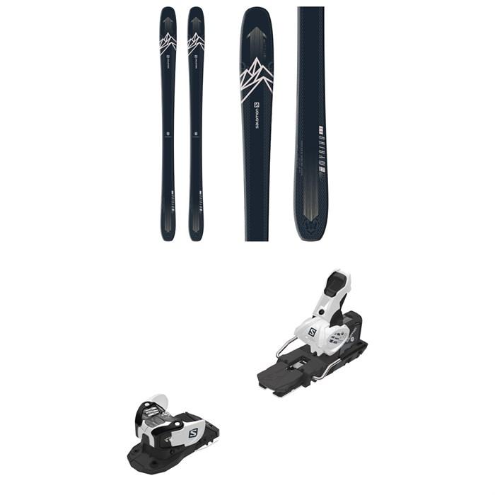 Salomon - QST Myriad 85 Skis - Women's + Warden MNC 13 Ski Bindings 2021