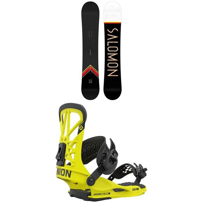 Salomon - Sight X Snowboard + Union Flite Pro Snowboard Bindings 2021