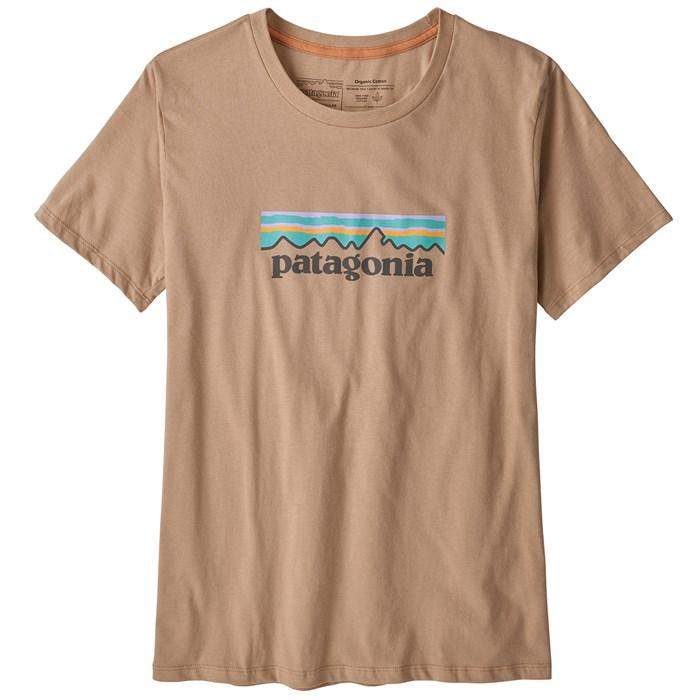 Patagonia - Pastel P-6 Logo Organic Crew T-Shirt - Women's