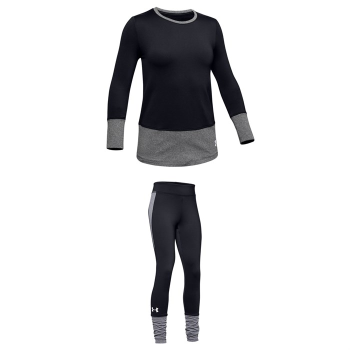 Under Armour - ColdGear® Long Sleeve Crew + Leggings - Girls'