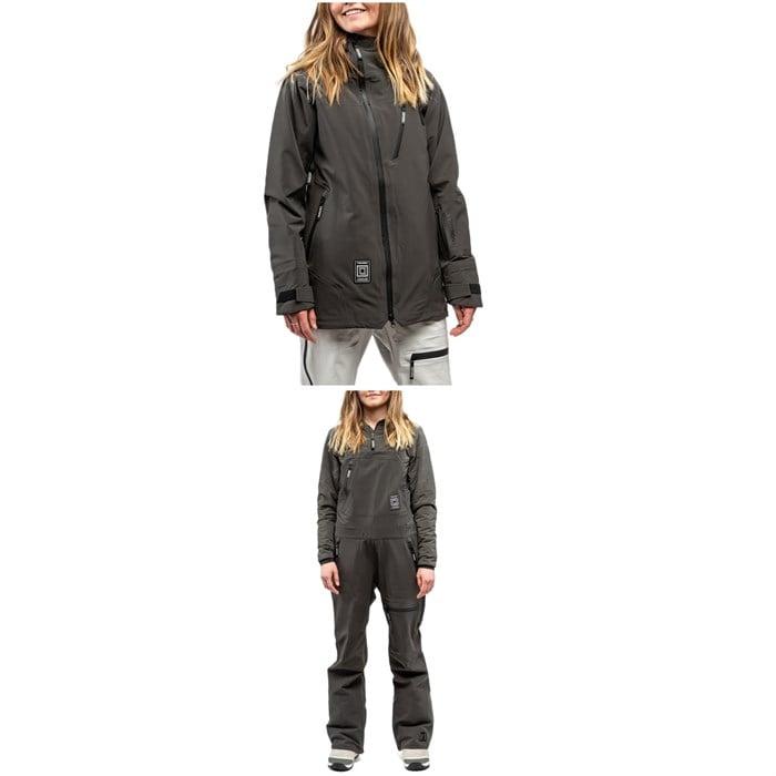 L1 - Nightwave Jacket + Sao Bibs - Women's