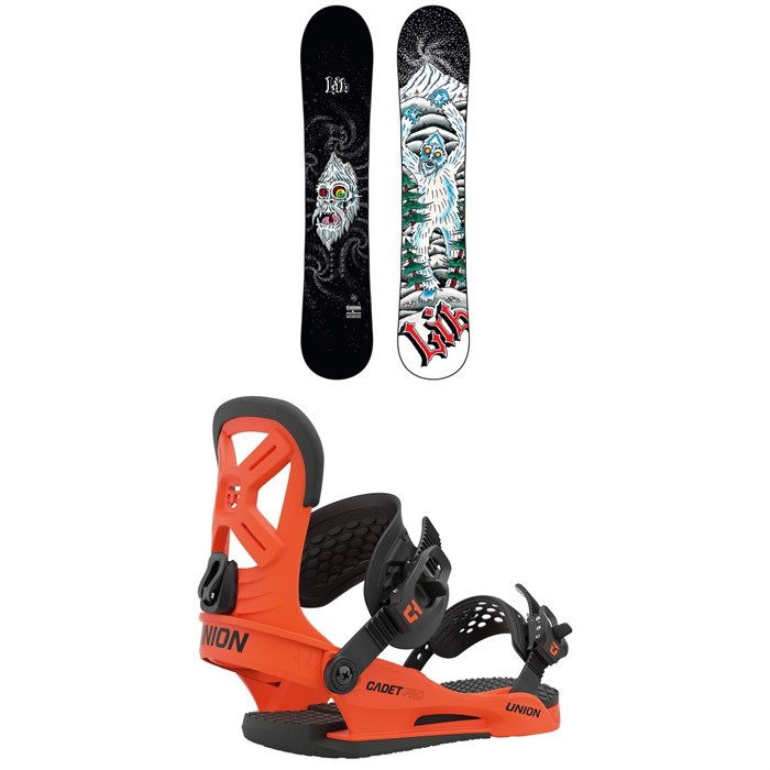 Lib Tech - Dynasword C3 Snowboard + Union Cadet Pro Snowboard Bindings - Kids' 2021