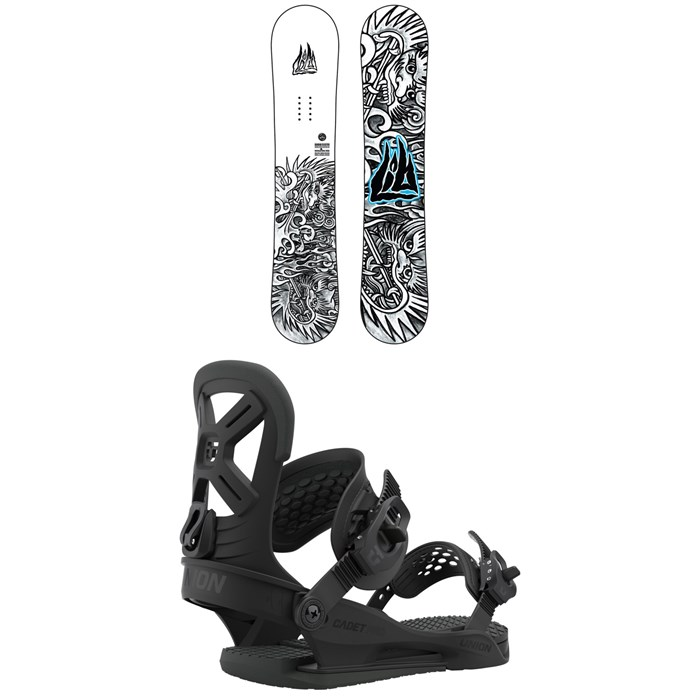 Lib Tech - Banana Blaster BTX Snowboard + Union Cadet Pro Snowboard Bindings - Kids' 2021