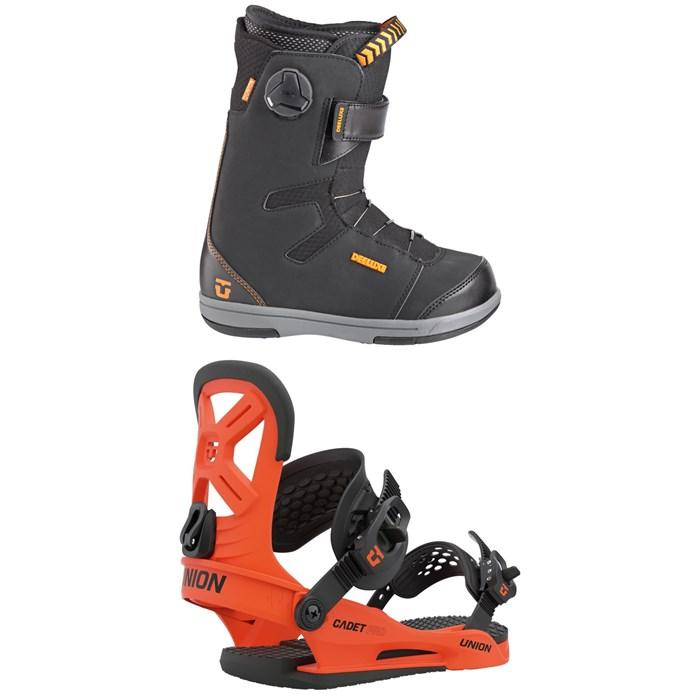 Union - Cadet Snowboard Boots + Cadet Pro Snowboard Bindings - Kids' 2021