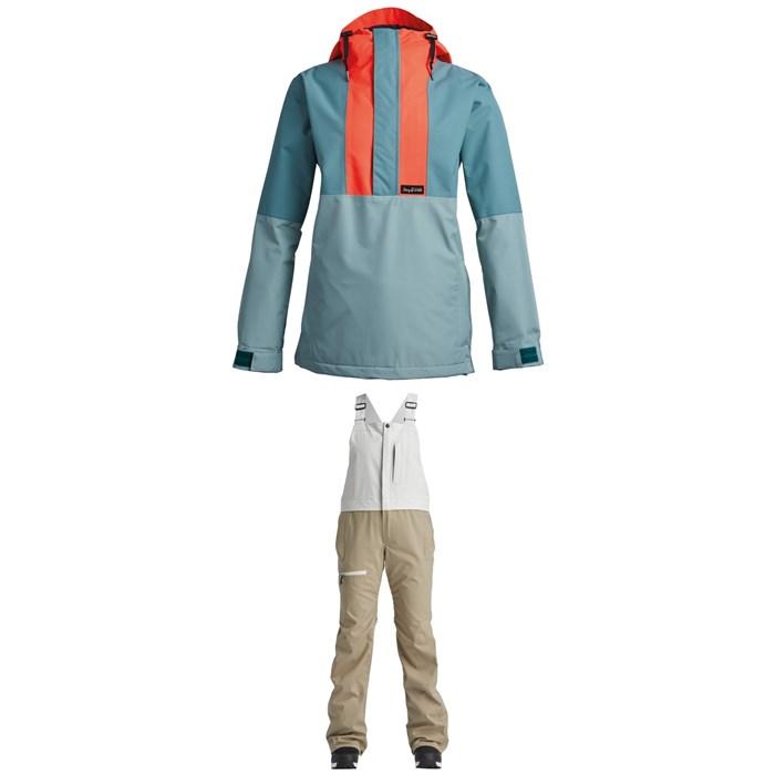 Airblaster - Trenchover Jacket + Hot Bibs - Women's