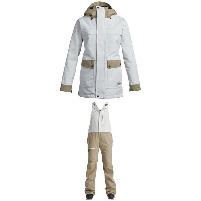 Airblaster - Storm Cloak Jacket + Hot Bibs - Women's
