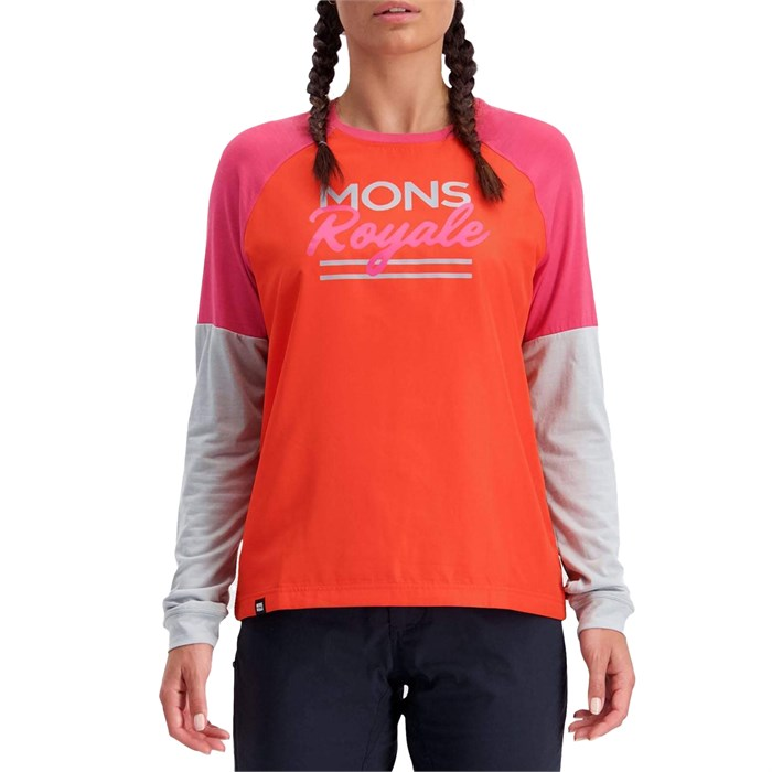MONS ROYALE - Tarn Freeride LS Jersey - Women's