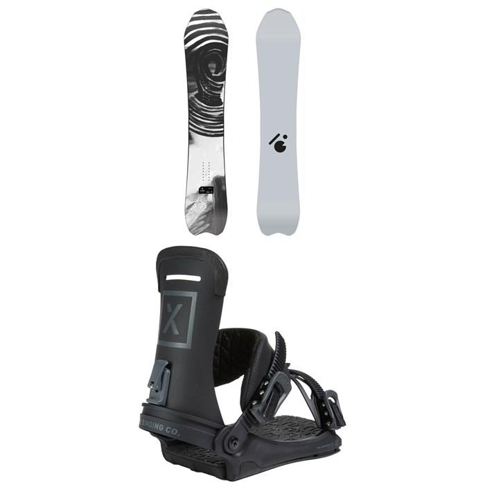 Slash - Vertical Snowboard + Fix Yale Ltd Snowboard Bindings 2021