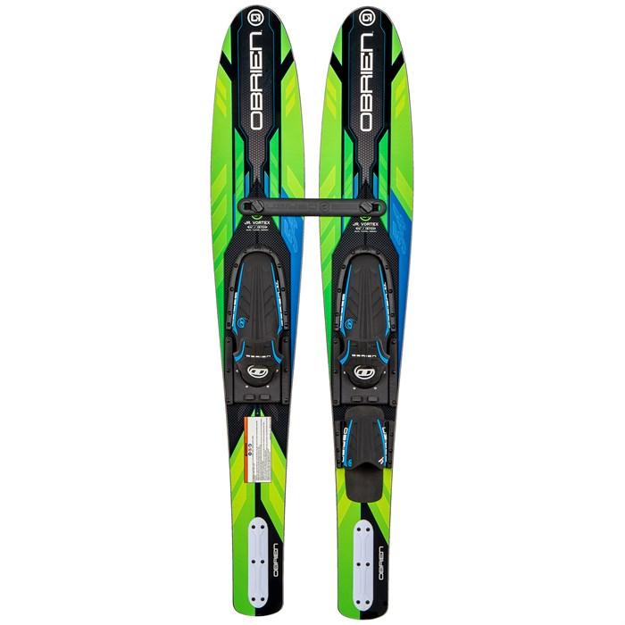 Obrien - Jr. Vortex Combo Water Skis + X-7 Bindings - Big Kids'