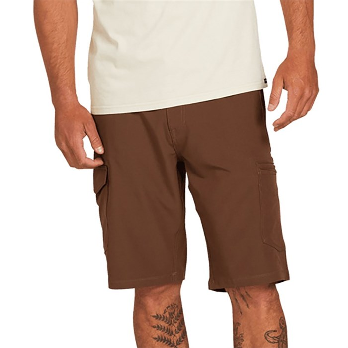 """Volcom - SNT Dry Cargo 21"""" Hybrid Shorts"""