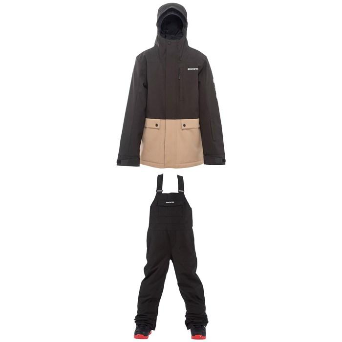 Bonfire - Vector Insulated Jacket + Reflect Bibs - Boys'