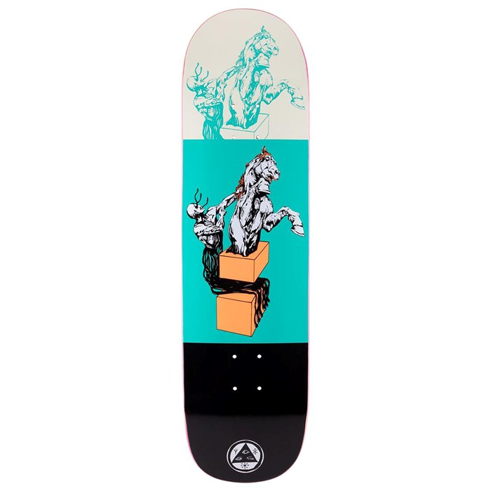 Welcome - Hierophant on Big Bunyip 8.5 Skateboard Deck