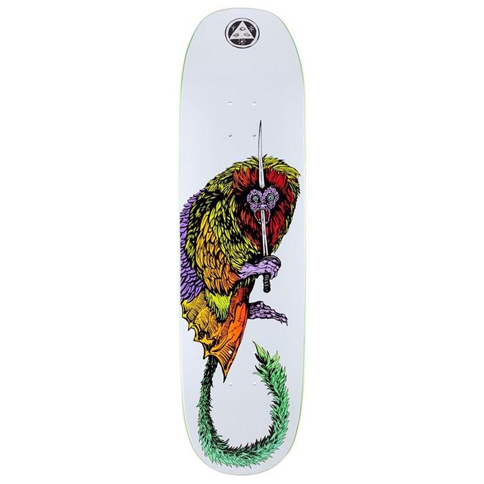 Welcome - Tamarin on Moontrimmer 2.0 8.5 Skateboard Deck