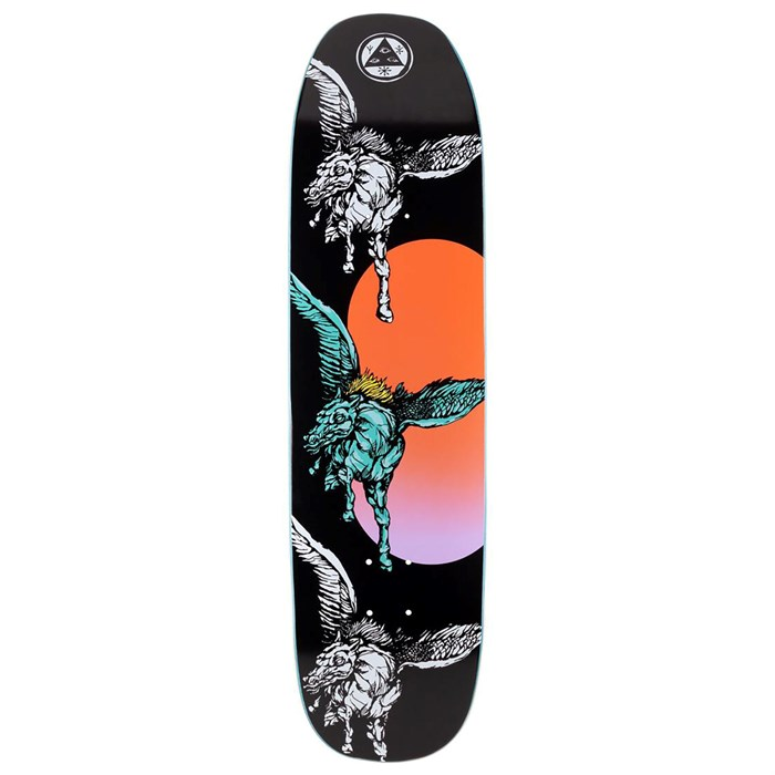 Welcome - Peggy on Son of Moontrimmer 8.25 Skateboard Deck