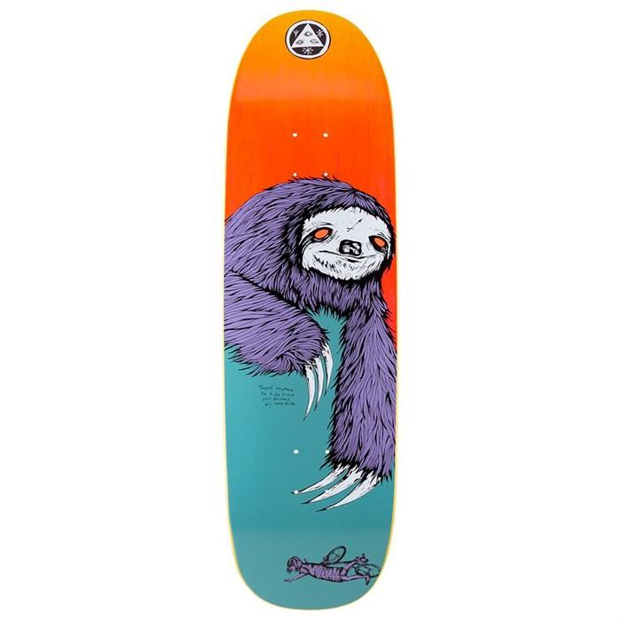 Welcome - Sloth on Boline 9.25 Skateboard Deck