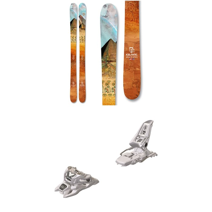 Icelantic - Maiden 91 Skis - Women's + Marker Squire 11 ID Ski Bindings 2021