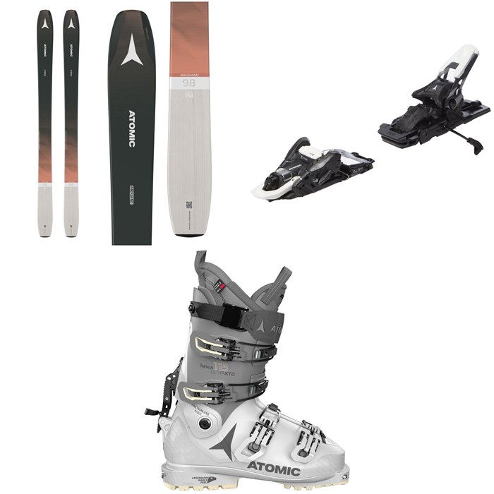 Atomic - Backland 98 W Skis - Women's + Shift MNC 10 Alpine Touring Ski Bindings + Hawx Ultra XTD 115 W Alpine Touring Ski Boots - Women's 2021