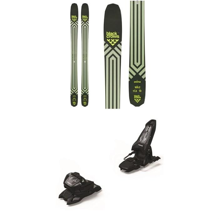 Black Crows - Anima Skis + Marker Griffon 13 ID Ski Bindings 2021