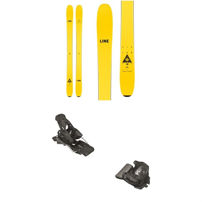 Line Skis - Vision 108 Skis + Tyrolia Attack² 13 GW Bindings 2021