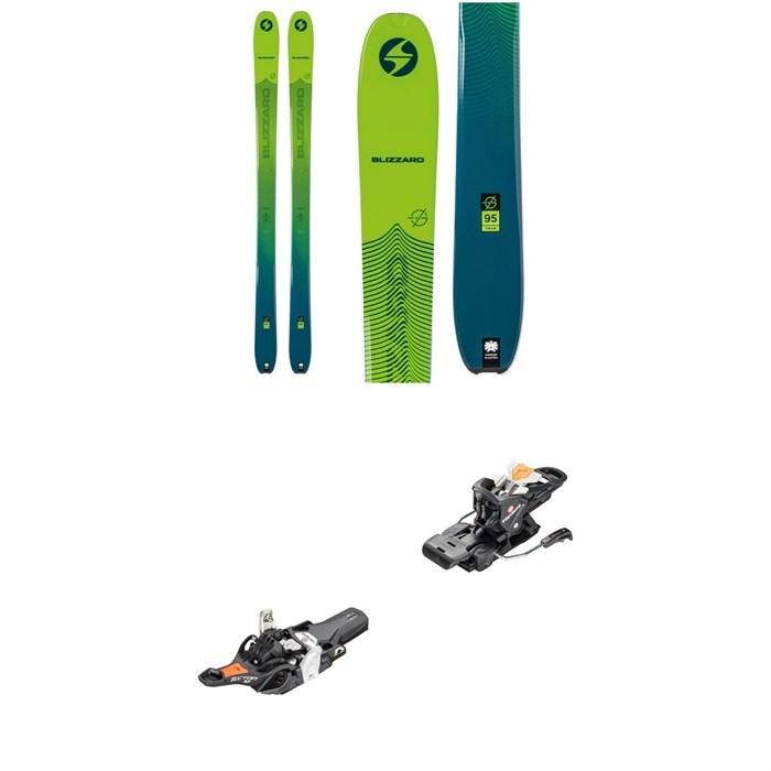 Blizzard - Zero G 95 Skis + Fritschi Tecton 12 Alpine Touring Ski Bindings 2021