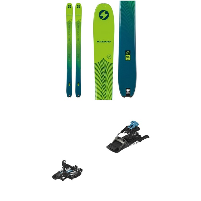 Blizzard - Zero G 95 Skis + Salomon MTN Tour Alpine Touring Ski Bindings 2021