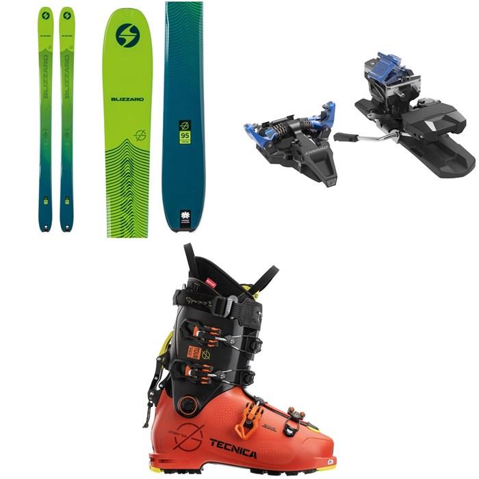Blizzard - Zero G 95 Skis + Dynafit ST Radical Alpine Touring Ski Bindings + Tecnica Zero G Tour Pro Alpine Touring Ski Boots 2021