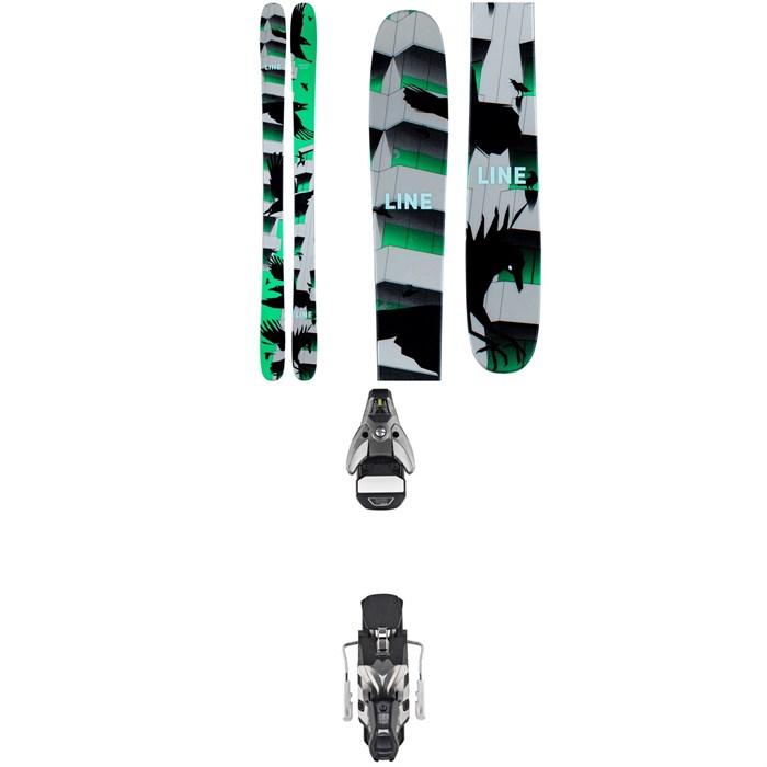 Line Skis - Chronic Skis + Atomic STH2 WTR 16 Ski Bindings 2021