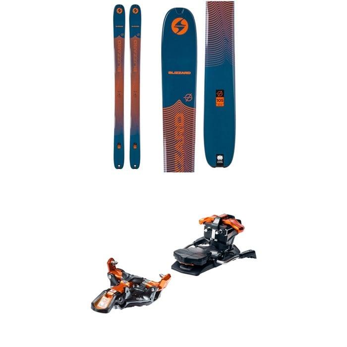Blizzard - Zero G 105 Skis + G3 Ion 12 Alpine Touring Ski Bindings 2021