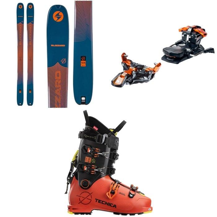 Blizzard - Zero G 105 Skis + G3 Ion 12 Alpine Touring Ski Bindings + Tecnica Zero G Tour Pro Alpine Touring Ski Boots 2021