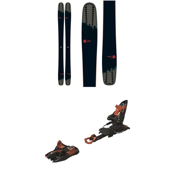 Rossignol - Soul 7 HD Skis + Marker Kingpin 13 Alpine Touring Ski Bindings 2020