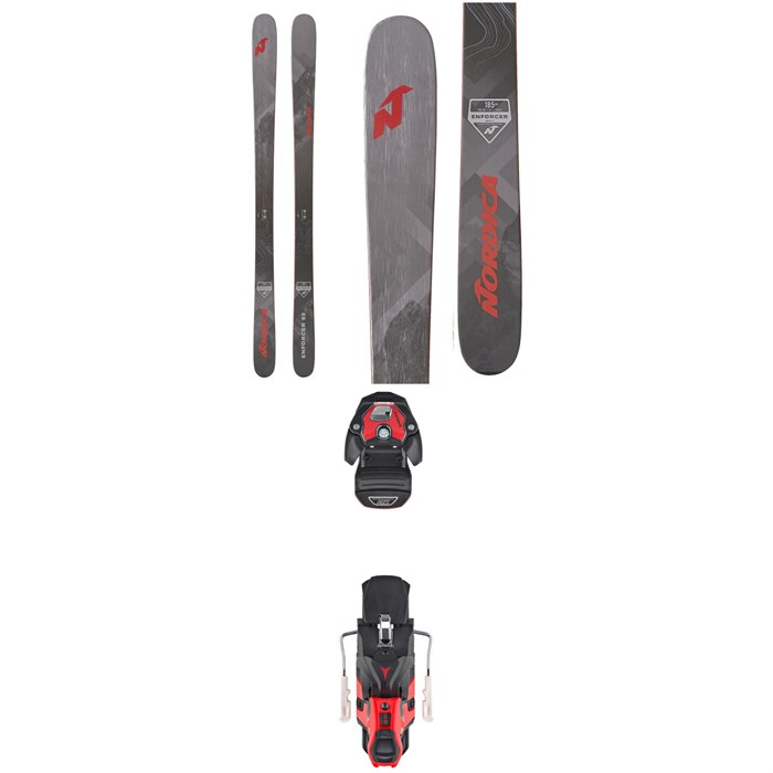 Nordica - Enforcer 93 Skis + Atomic Warden MNC 13 Ski Bindings 2020