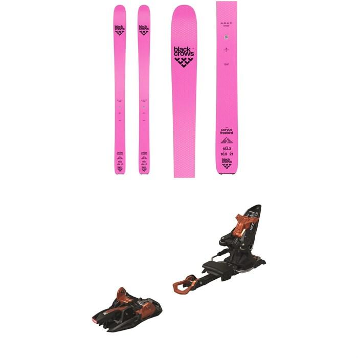 Black Crows - Corvus Freebird Skis + Marker Kingpin 13 Alpine Touring Ski Bindings 2020
