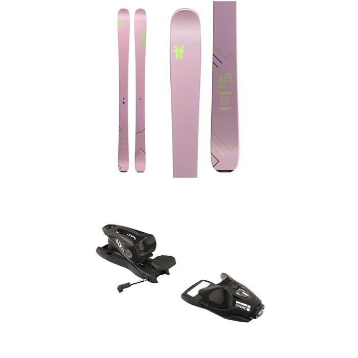 Faction - Agent 2.0X Skis - Women's + Look NX 11 Ski Bindings 2020