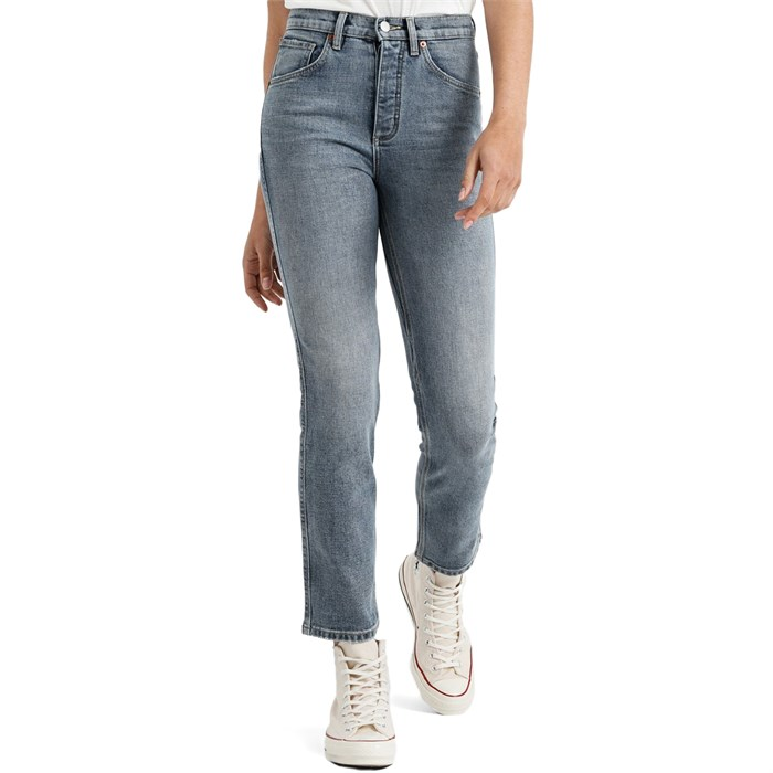 DU/ER - High-Rise Straight Jeans - Women's